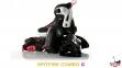 Роликовые коньки детские Rollerblade spitfire COMBO G pink 2017 Р 28-32